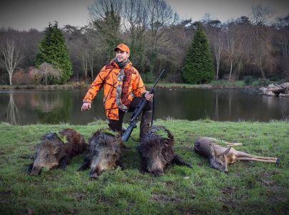 Une journée de chasse avec : des amis, des animaux, de la passion et des beaux souvenirs.