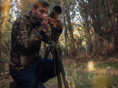 Moment sympa entre ami. La chasse photographique permet de mettre en application tous ses sens de prédateur.