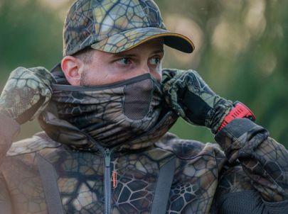 La saison d'approche est lancée, on sort la tenue Solognac avec le camouflage furtiv