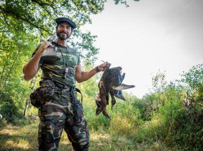 La chasse au canard, une de mes préférées